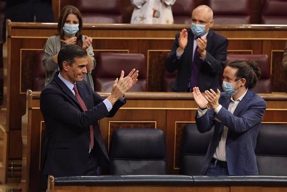PSOE y Podemos logran un acuerdo para aprobar el borrador de PGE, al pactar regular el precio del alquiler en 4 meses